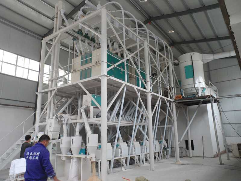 60 t /24 hours wheat flour mill plant