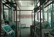 Coarse grain processing plant