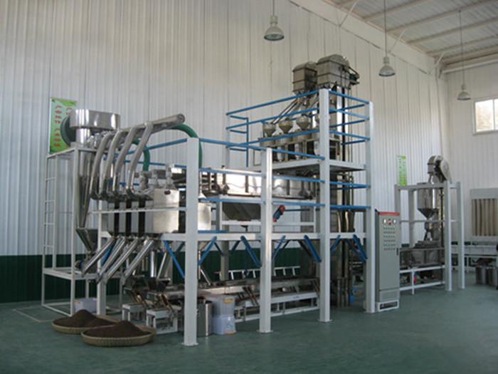 Millet milling plant - Coarse grain processing plant