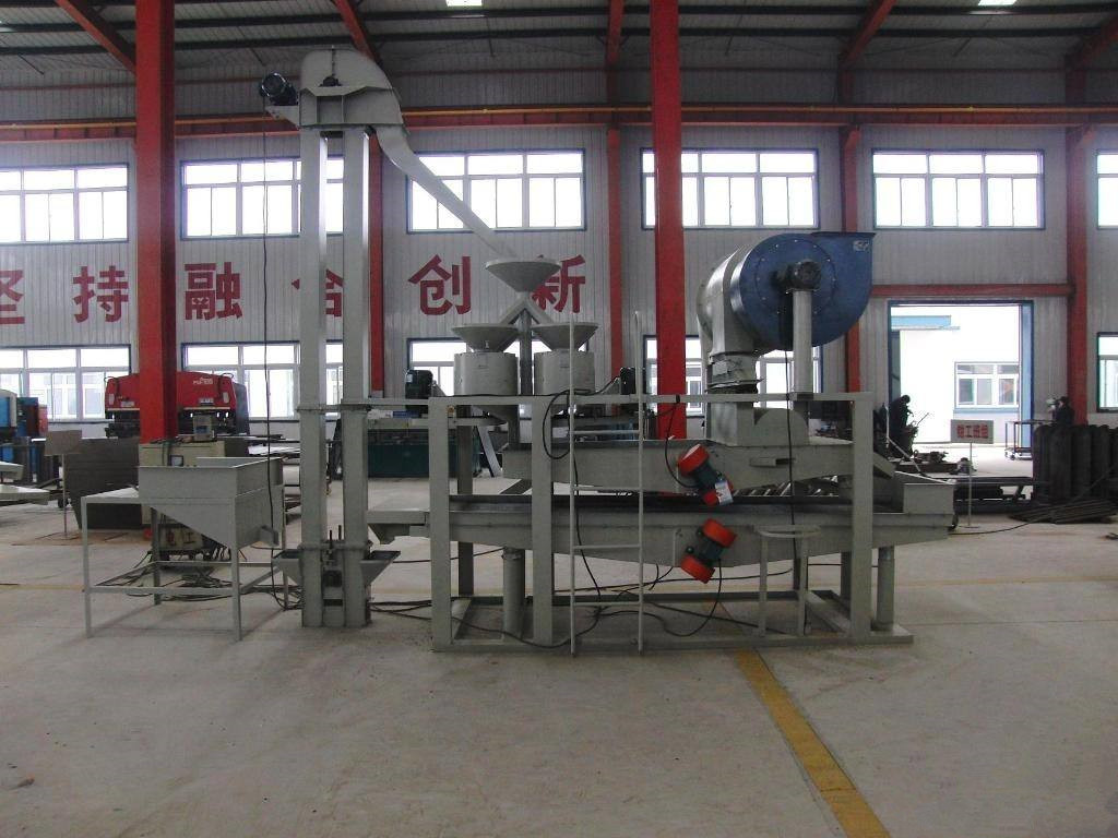 Buckwheat processing equipment