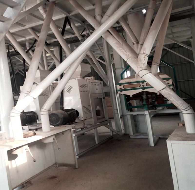200 ton per day corn/maize flour mill