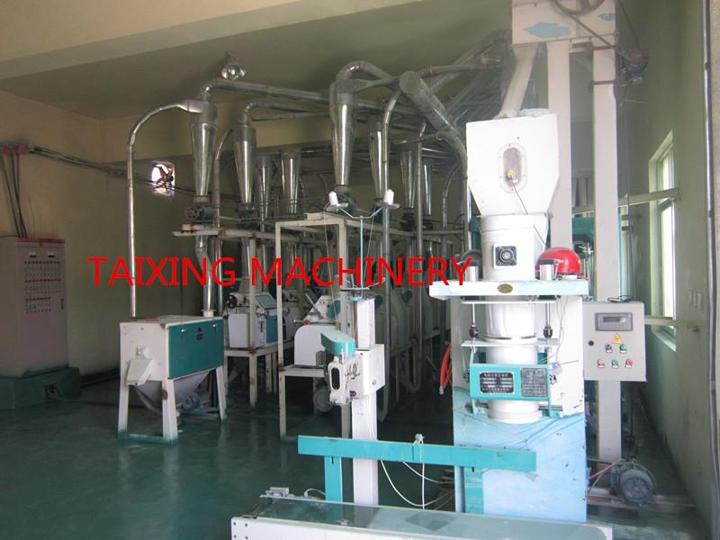 30-40 ton per day wheat flour milling machine plant