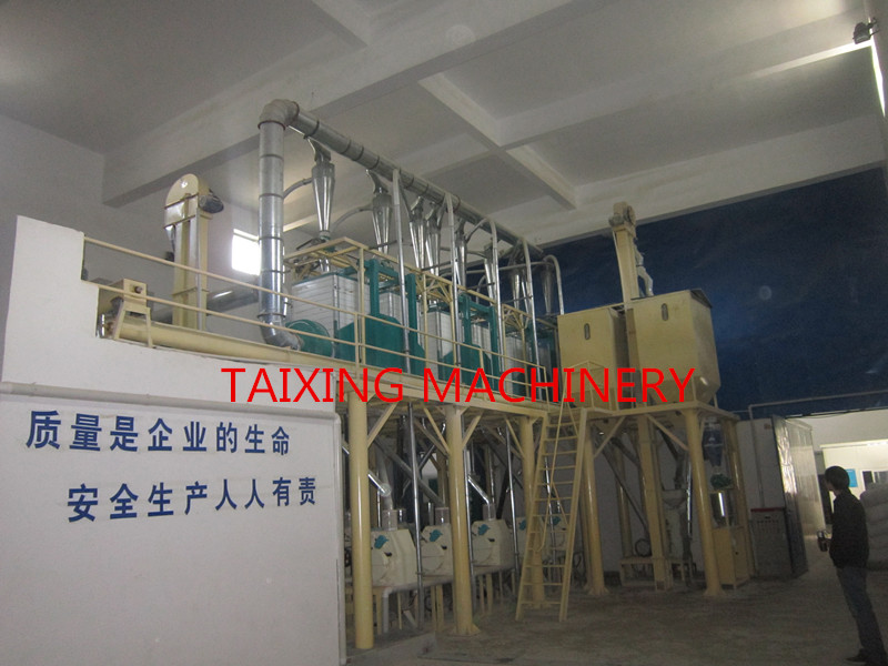 30-40 ton per day wheat flour milling machine plant