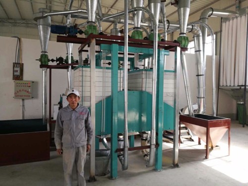 6-8 TPD soybean meal grinder machine