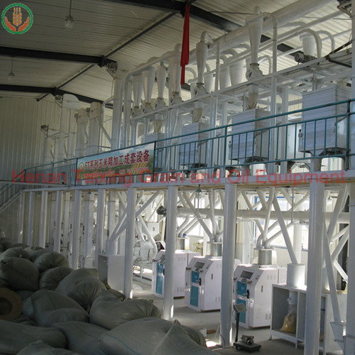 100-120 ton per day corn milling machine