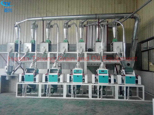 20T Automatic Wheat Flour Milling Plant Project