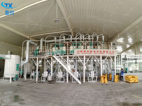 50T/D Fully Automatic Complete Flour Milling equipment/Wheat Flour Mill