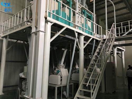25-30 Ton Per Day Corn Mill Grinder Maize Milling Machine