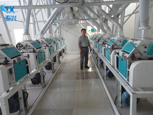 50Ton Complete Flour Mill/Wheat Flour Milling Production Line