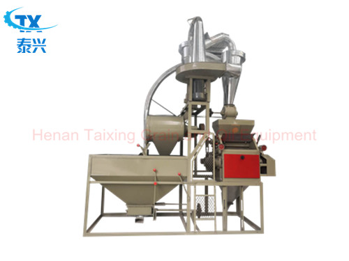 Small Scale Wheat Flour Milling Machine