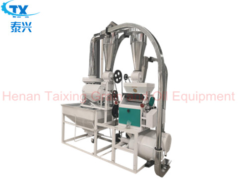 5 ton per day wheat flour milling machines with price