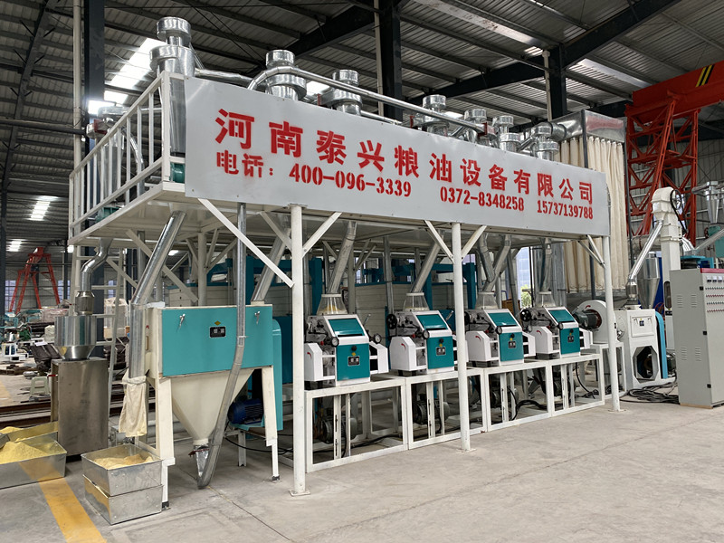 20 ton per day maize flour milling plant