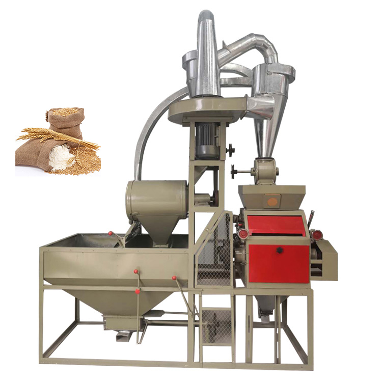 Small Scale corn/wheat Flour Roller Milling Machine